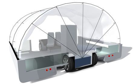 andrew maynards设计的汽车移动房屋:bob