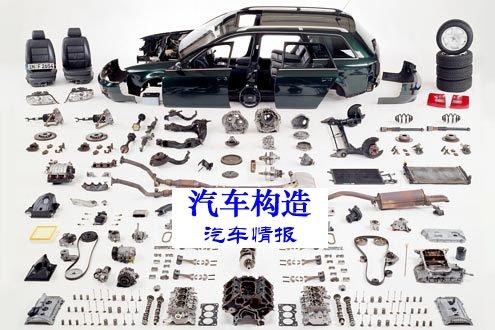 小轿车内部结构图